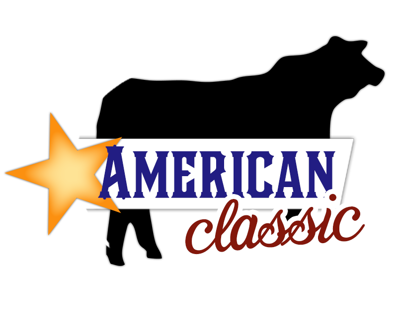 Americanclassic logo webonly3 american classic show cattle for American classic 3